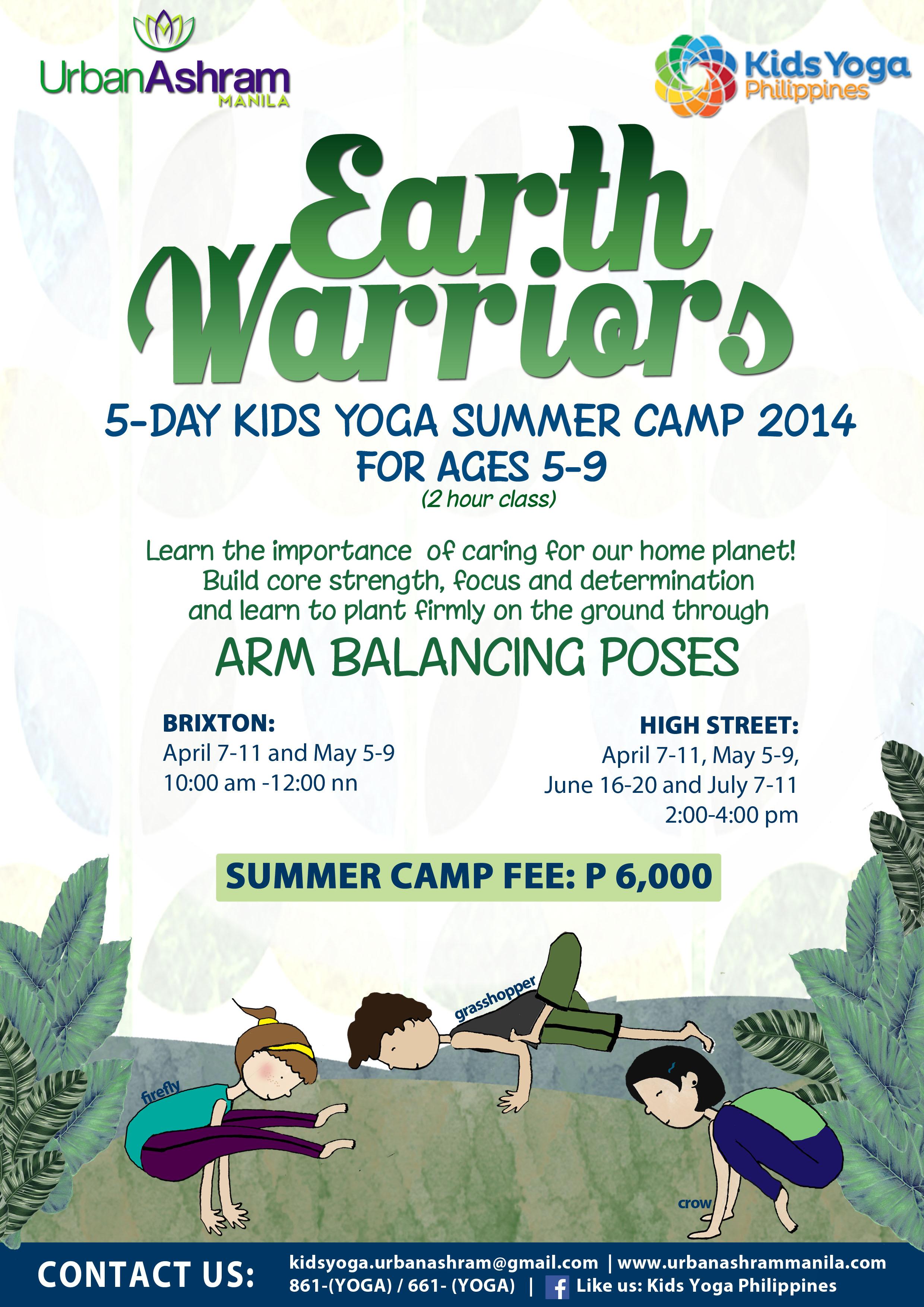 KIDS YOGA SUMMER CAMP 2014